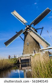 watermill in the Dutch landscape