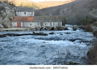 Watermill on the river Grab, Trilj
