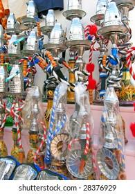 The water-pipes on Oriental bazaar