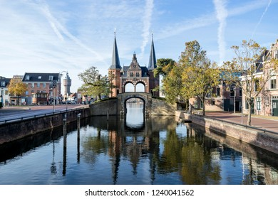 Waterpoort in Sneek, the Netherlands