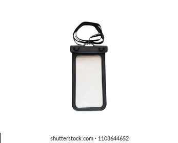 Waterproof Case or Pouch for Mobile Phone - White background