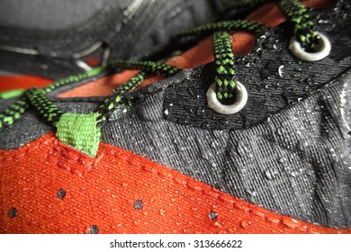Waterproof technology for mountain shoes