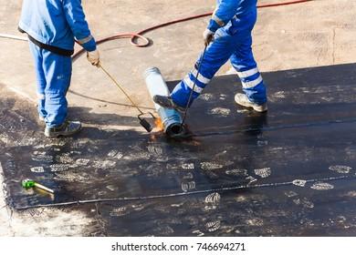 waterproofing foundation flat roof repair