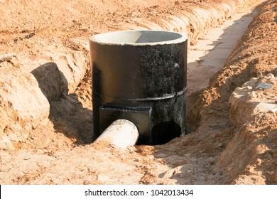 waterproofing on drainage sump