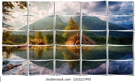 Waters Mountains Bis Pictures Puzzle