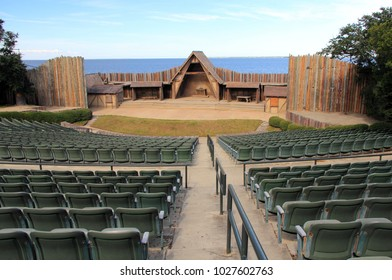 Waterside Theatre at the Fort Raleigh National Historic Site on Roanoke Island, North Carolina