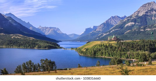 Waterton Lake, Waterton National Park, Canada