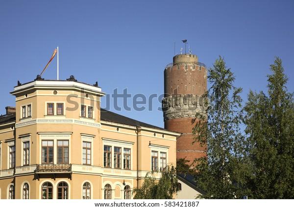 Watertower in Vaasa. Finland