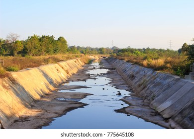 The waterway is going away. Shortage of water