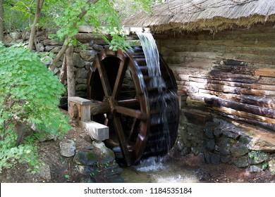 Waterwheel In Korea