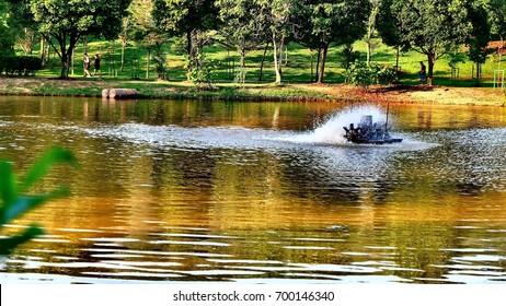 Waterwheel landscape
