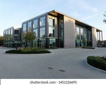Watford, Hertfordshire, England, UK - July 14th 2019: Building 2, Croxley Park business park, Hatters Lane, Watford