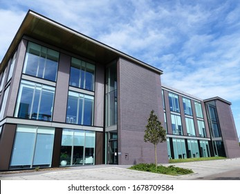Watford, Hertfordshire, England, UK - March 21st 2020: Building 2, Croxley Park business park, Hatters Lane, Watford