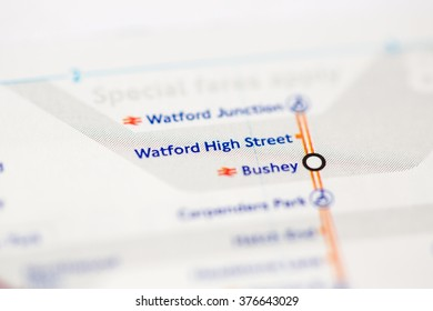 Watford High Street Station. London Overground. London. UK.