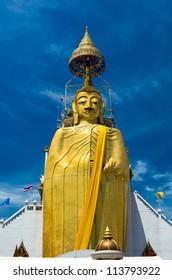 watindra Stand Buddha Statue in Thailand