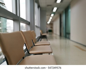 wating seat in hospital.