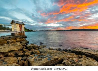 Watson Bay sunrise, Sydney Australia