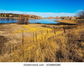 Watson Lake in the Granite Dells of Prescott, AZ is a popular wetlands area in which to see many species of interesting birds and waterfowl.