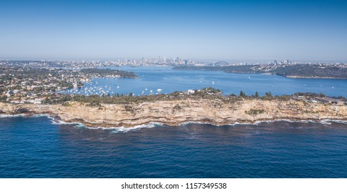 Watsons Bay, South Head, New South Wales, Sydney Australia. via Drone