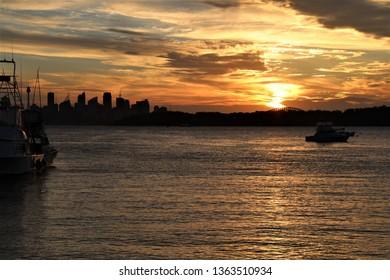 Watson's Bay sunset Sydney Australia