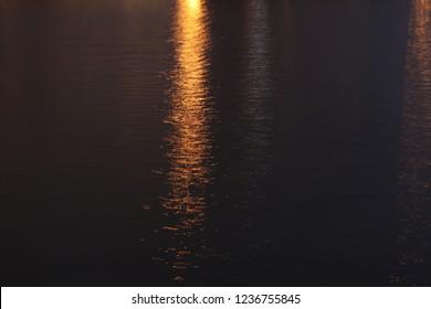 Watter night background photo
