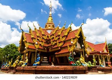 WatThat Mahachai PlaPak, Nakhon Phanom, Thailand