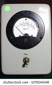 Wattmeter ,an instrument for measuring the electric power.
