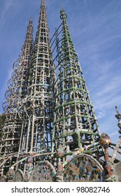 The Watts towers have been an international landmark for almost a century in south central Los Angeles.