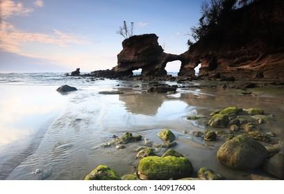 Watu Parunu Beach at East Sumba, East Nusa Tenggara, Indonesia