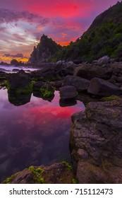 watulumbung beach