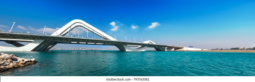 Wave Bridge Highway, Emirates, Abu Dhabi, Sheikh Zayed Bridge, Jan.2018