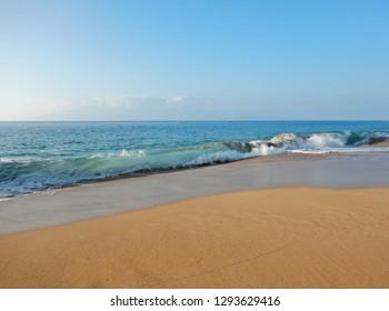 wave at Kaanapali Beach Maui Hawaii