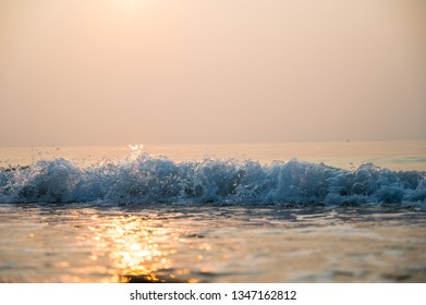 Wave in the morning
