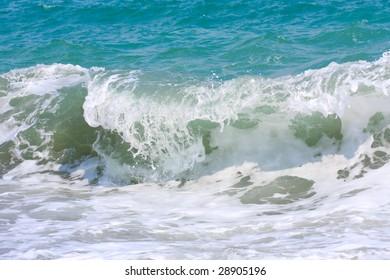 wave on the sea beach
