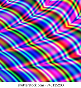 Wave pattern colorful illustration party background