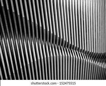 The wave pattern wood  wall abstract background