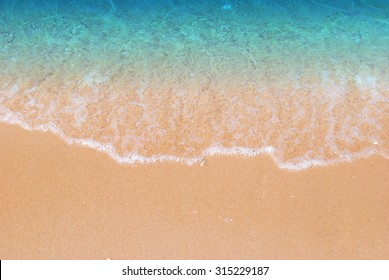 Wave & Sand beach background
