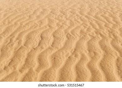 Wave sandy texture of dunes in Maspalomas, Gran Canaria