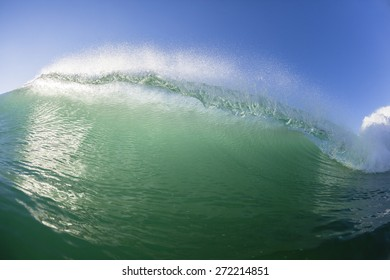 Wave Swimming Wave swimming closeup scenic crashing  hollow water energy of nature