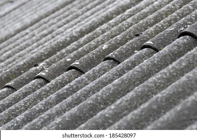 waved asbestos-cement sheets