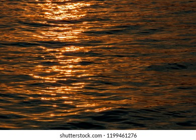 waves before sunset