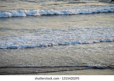 Waves and foam from the seaside of Cantabria