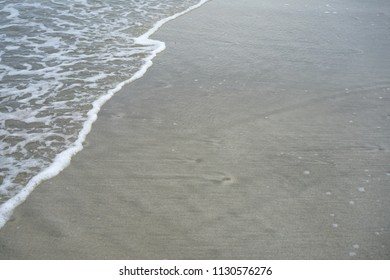 Waves on the beach