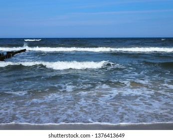 Waves on the beach, tides