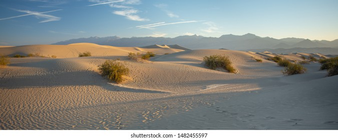 Waves Of Sand Over Death Valley