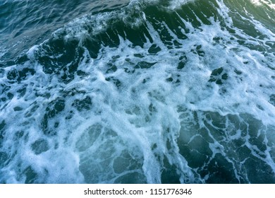 waves, sea foam, Adriatic sea