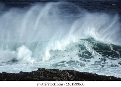 Waves at the Tsitsikamma National Park, Eastern Cape, South Africa