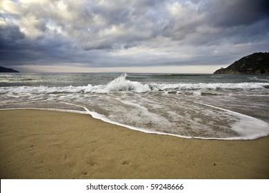 waves in winter