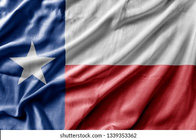 3406cc74815 Waving detailed national US country state flag of Texas