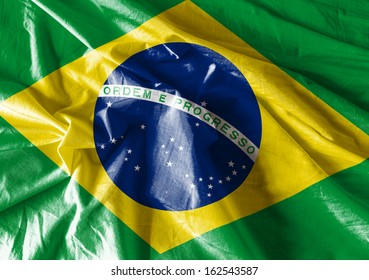 Waving Flag of Brazil, Latin America